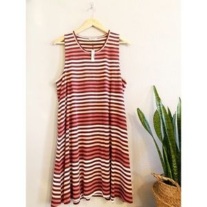 Madewell Highpoint Tank Dress Sulley Stripe XXL